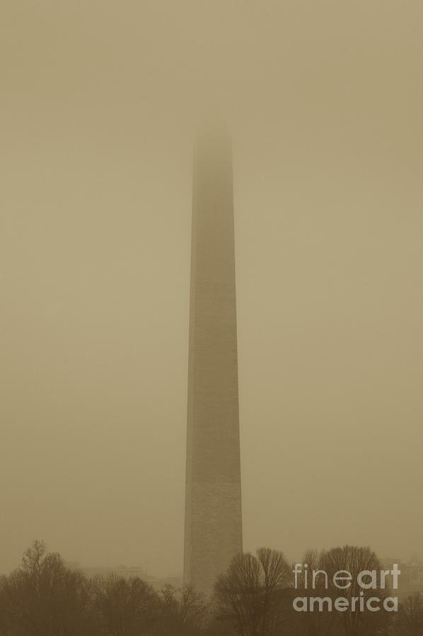 Misty Sky Photograph