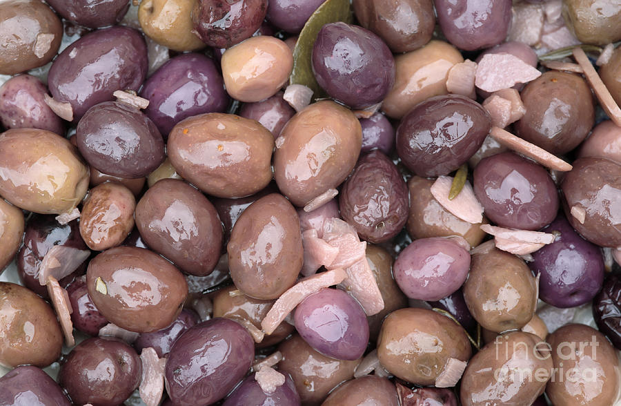 Mixed Olives Photograph