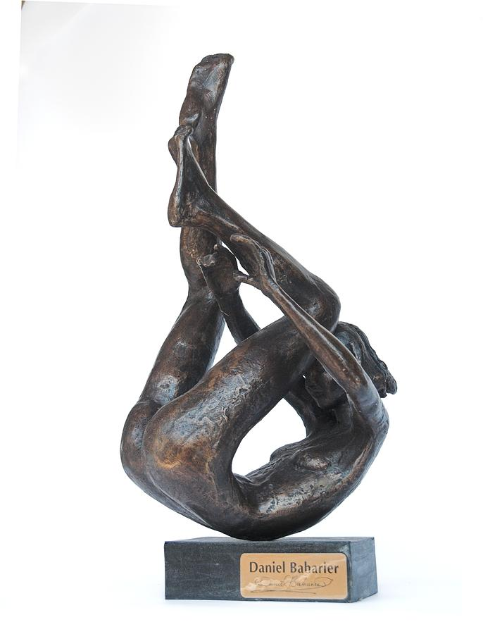 Sport Figurative Sculpture - Mobeus Strip by Daniel Baharier