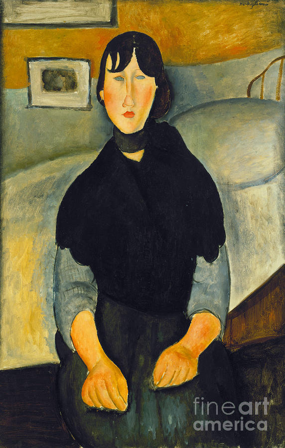 1918 Photograph - Modigliani: Woman, 1918 by Granger