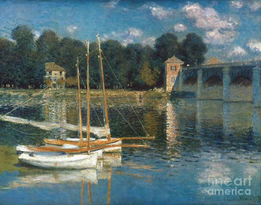 1874 Photograph - Monet: Argenteuil by Granger