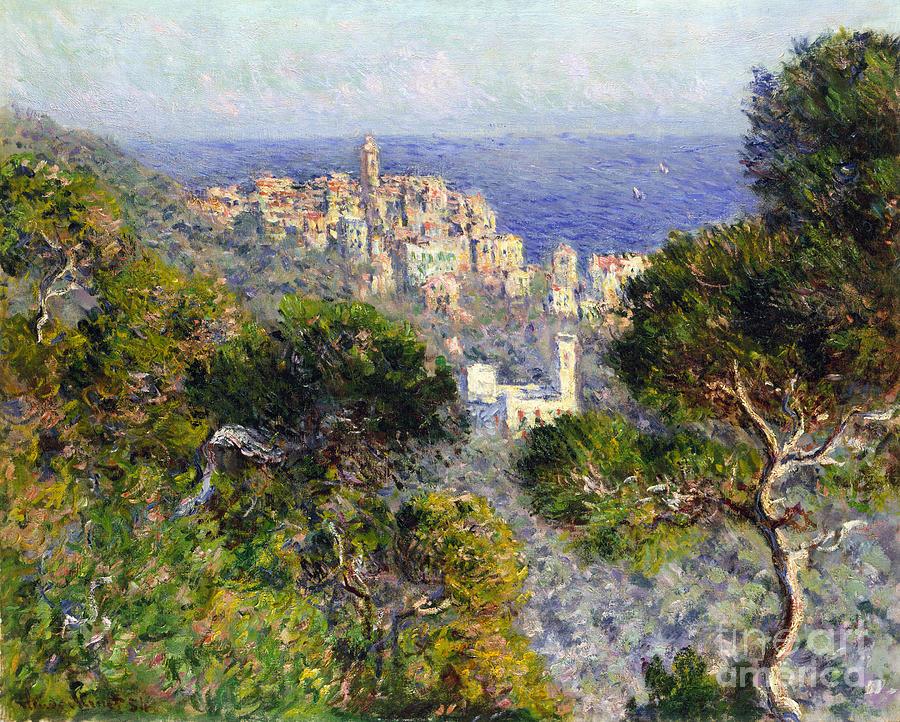1884 Photograph - Monet: Bordighera, 1884 by Granger