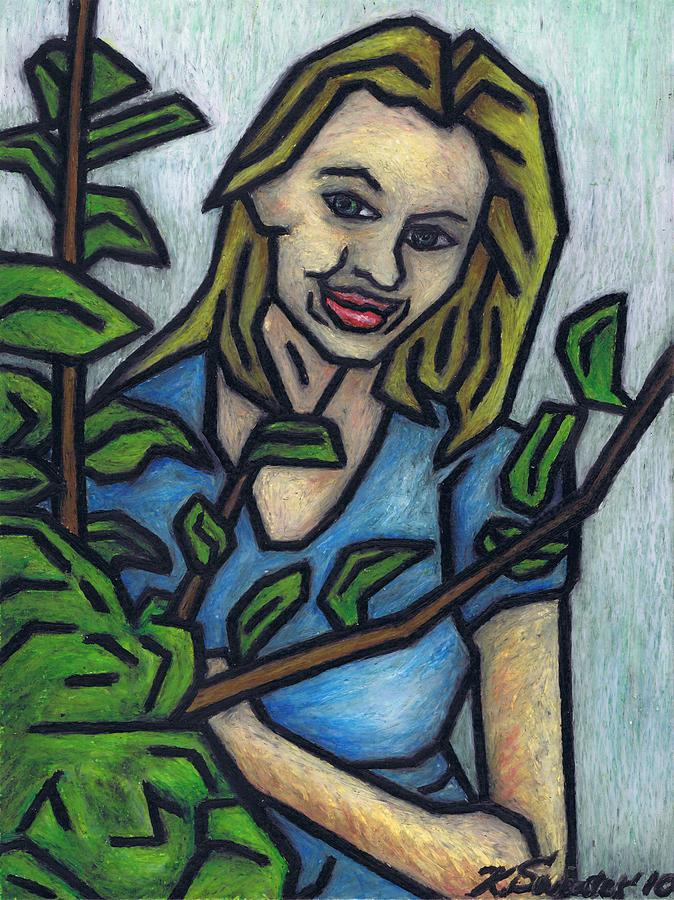 Monisia Painting - Monisia by Kamil Swiatek