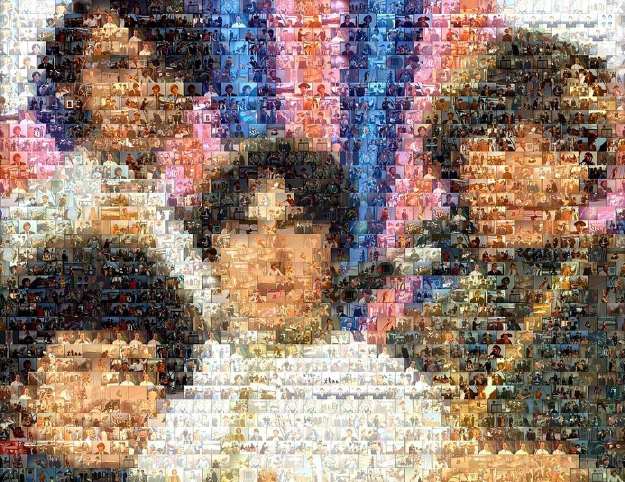 Davy Jones Digital Art - Monkees Mosaic by Paul Van Scott