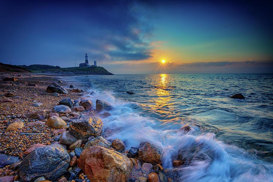 Montauk Point Photograph - Montauk Sunrise by Rick Berk