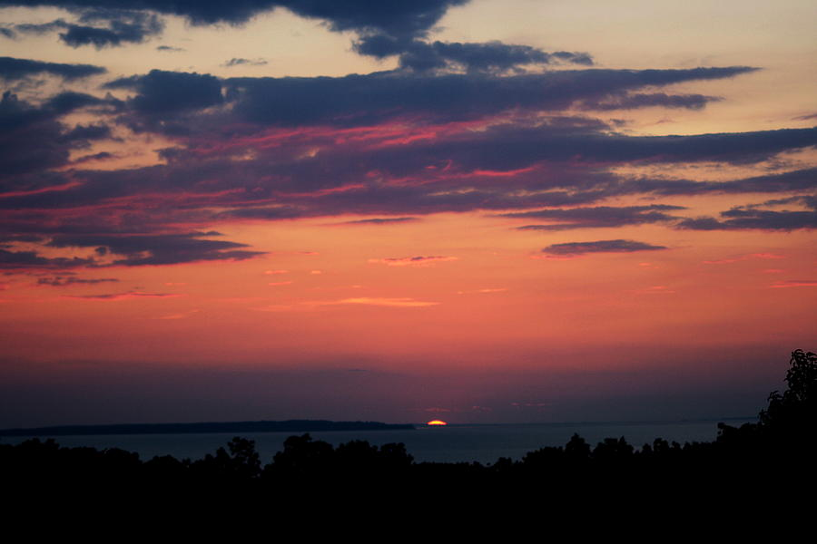 Sunset Photograph - Montauk Twilight by Christopher Kirby