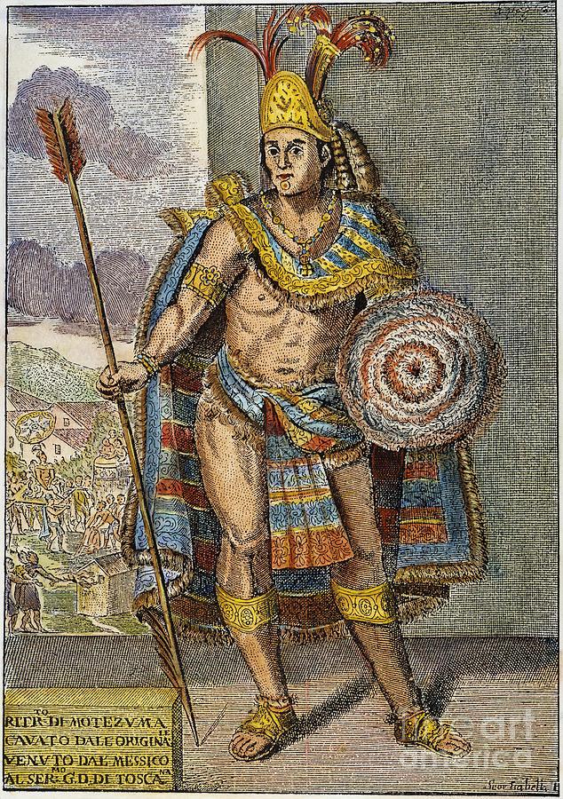 Montezuma Ii 1480 1520 Photograph By Granger