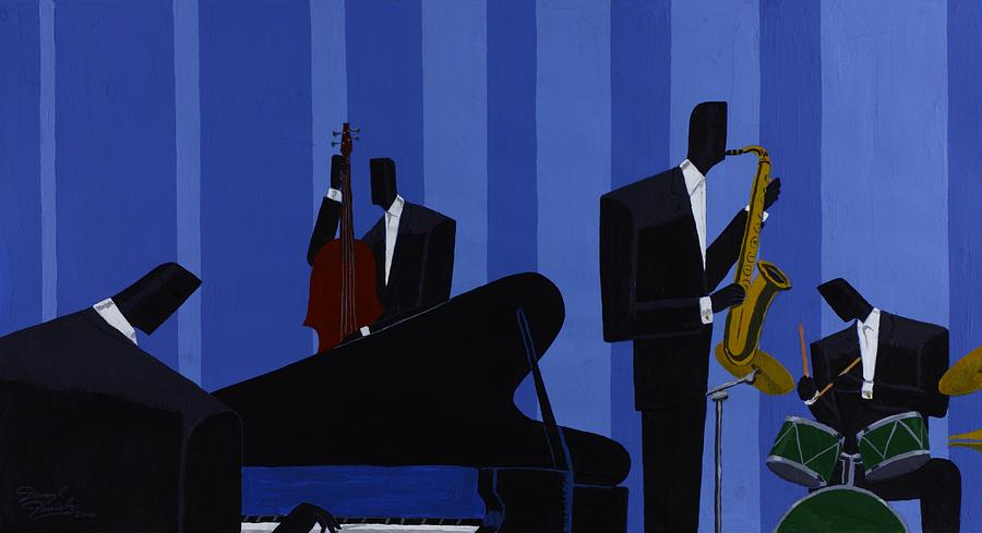 Music Painting - Mood Interlude by Darryl Daniels