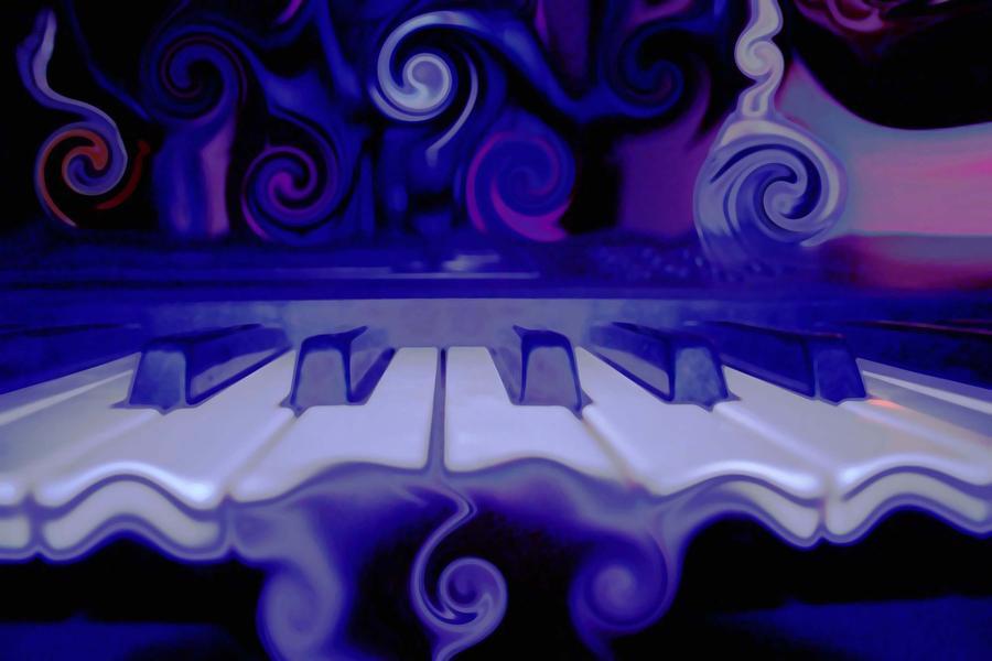 Music Photograph - Moody Blues by Linda Sannuti