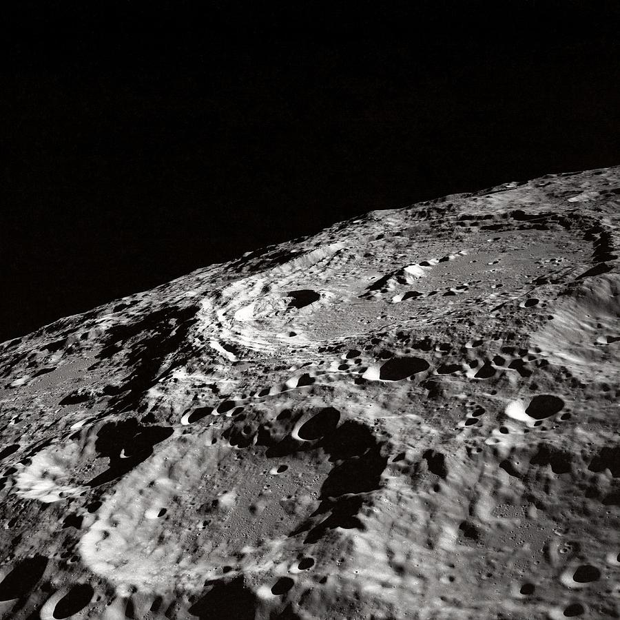 a research on the moon craters astronomy