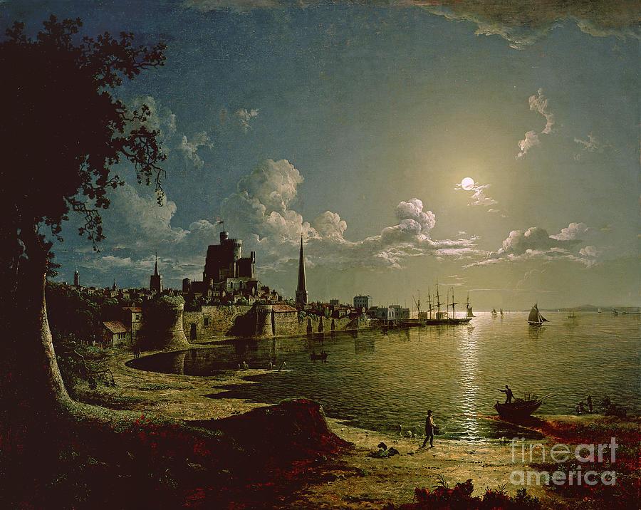 Moonlight Painting - Moonlight Scene by Sebastian Pether