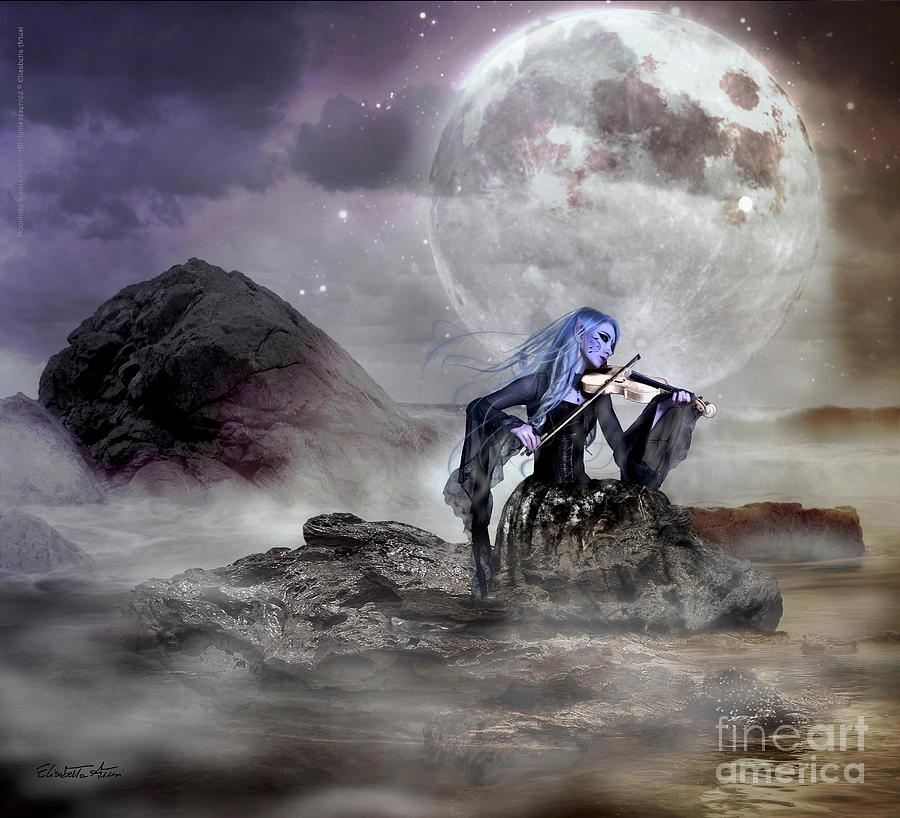 Moonlight Sonata is a painting by Betta Artusi which was uploaded on ...