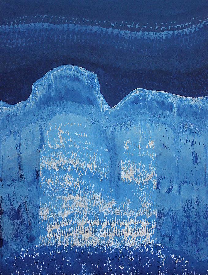 Moonlit Canyon Original Painting Painting