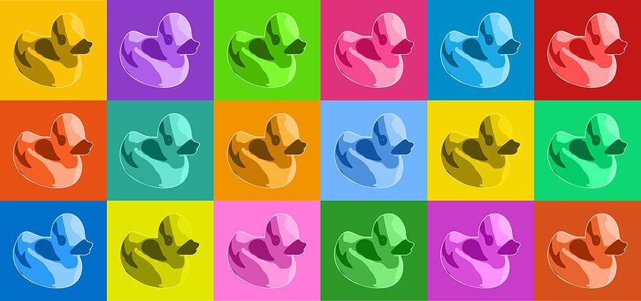 Rubber Ducks Digital Art - More Rubber Ducks by Michael Tompsett