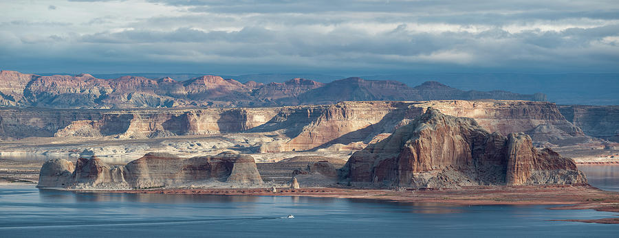 Morning Cruise - Lake Powell Photograph
