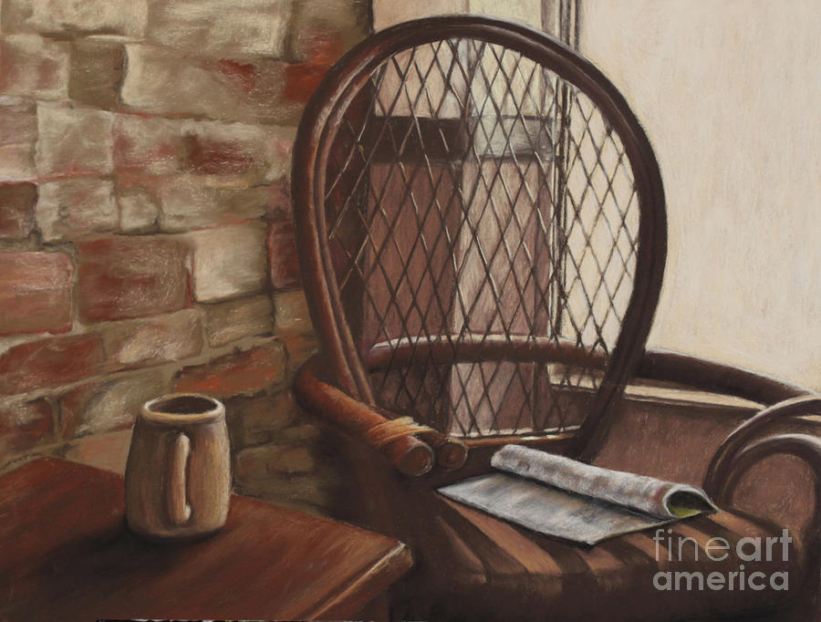 Interior Scene Pastel - Morning Haven by Tina Foote