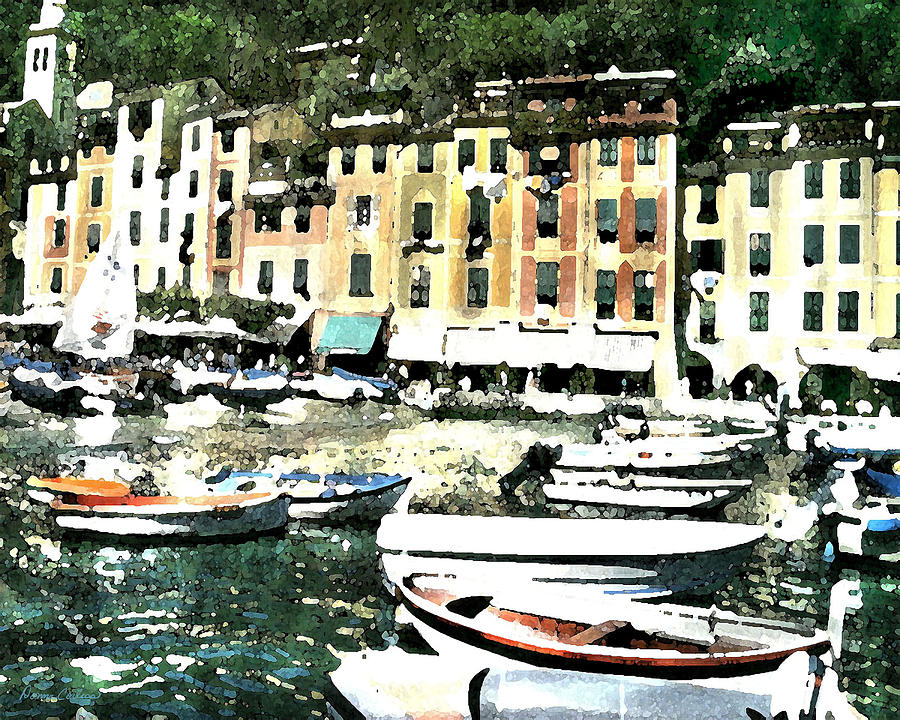 Morning In Portofino Digital Art