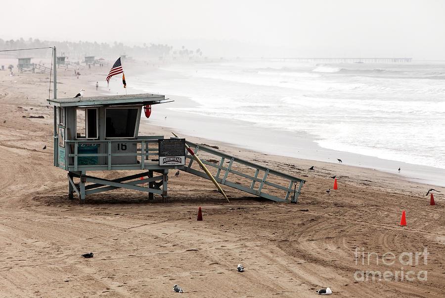 Santa Monica Beach Photograph - Morning In Santa Monica by John Rizzuto