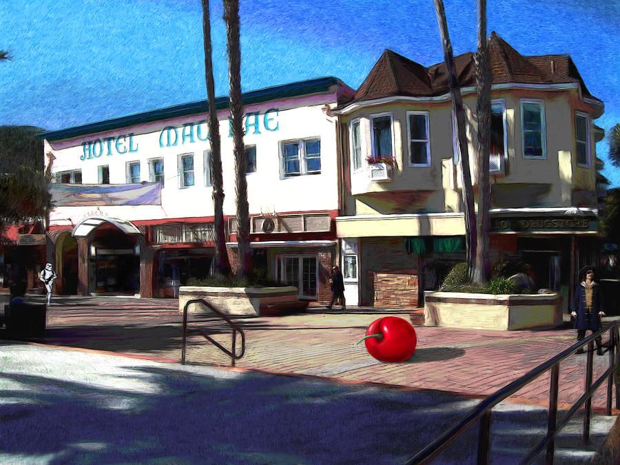 Catalina Painting - Morning Light by Snake Jagger