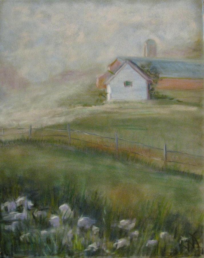 Rural Pastel - Morning Mercy by Wendie Thompson