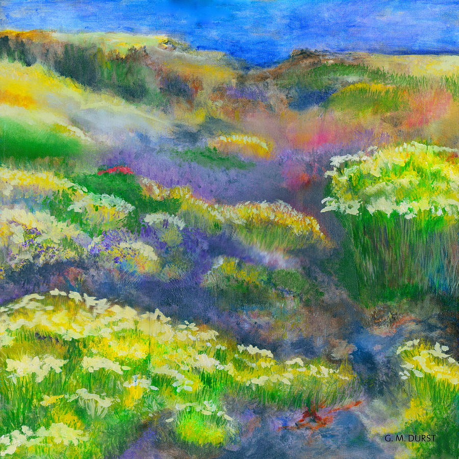 Wild Flower Painting - Morning Mist by Michael Durst