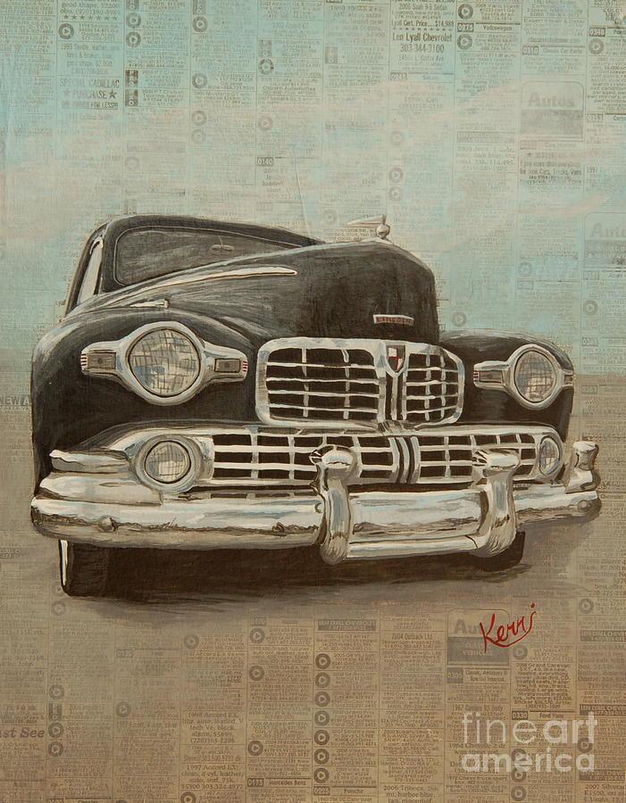 Mixed Media Painting - Morning Paper Memory by Kerri Ertman