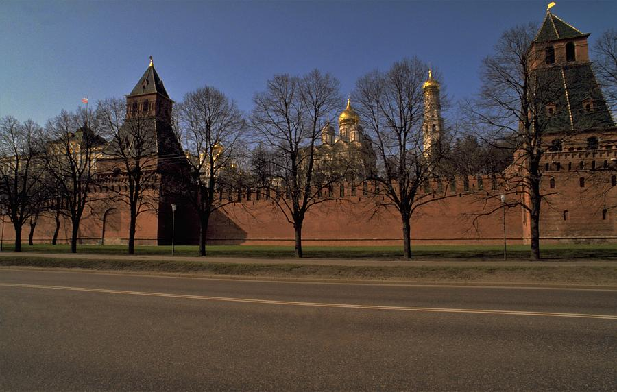 Moscow Kremlin In Winter Photograph