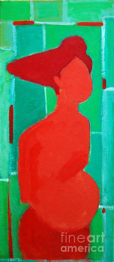 Motherhood Painting - Motherhood by Ana Maria Edulescu