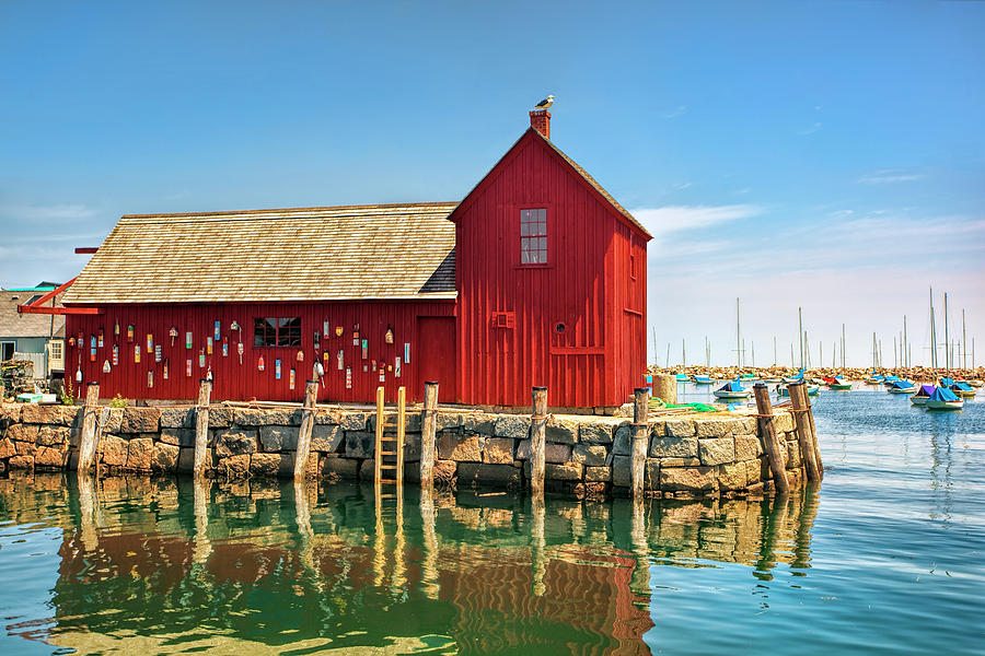 Rockport Photograph - Motif One by Marcia Colelli