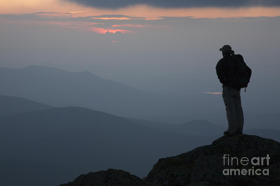 Hike Photograph - Mount Clay Sunset - White Mountains New Hampshire Usa by Erin Paul Donovan