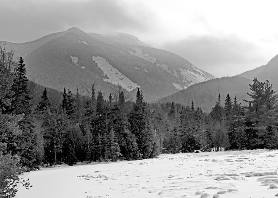New Photograph - Mount Colden During Winter From Marcy Dam In The Adirondack Mountains by Brendan Reals