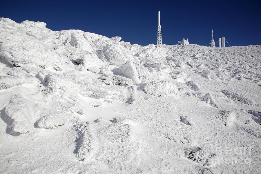 Mount Washington New Hampshire - Rime Ice Photograph