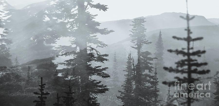 Mountain Exposure Photograph