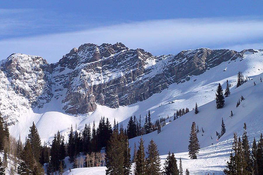 Alta Photograph - Mountain High - Salt Lake Ut by Christine Till