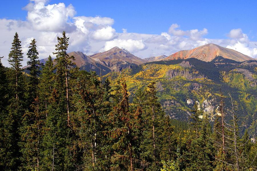 Mountains Aglow Photograph