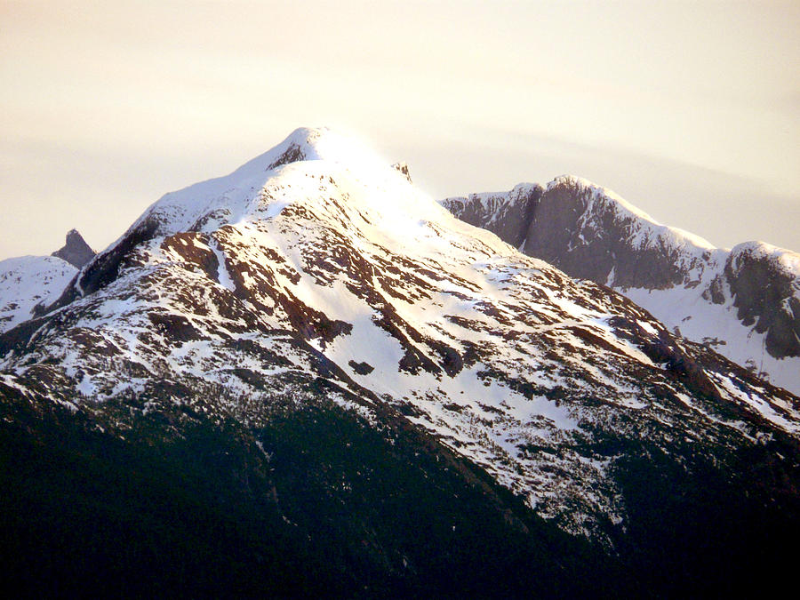 Mountains Photograph - Moutons Glace by Robert OP Parrish