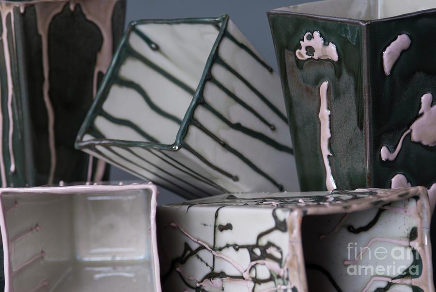 Ceramics Ceramic Art - Movie Night by Tracy Pickett