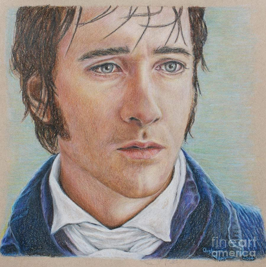 Mr. Darcy Drawing by C...