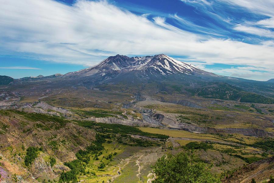 Mt Saint Helens Washington Photograph