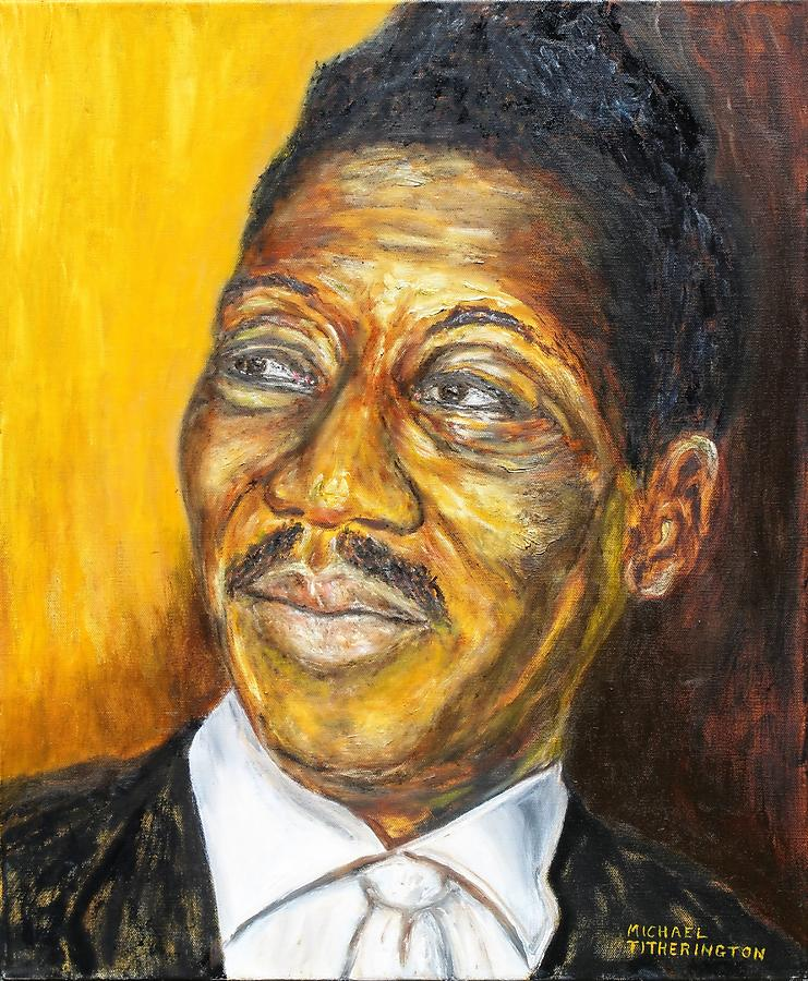 Muddy Waters Painting - Muddy Waters by Michael Titherington