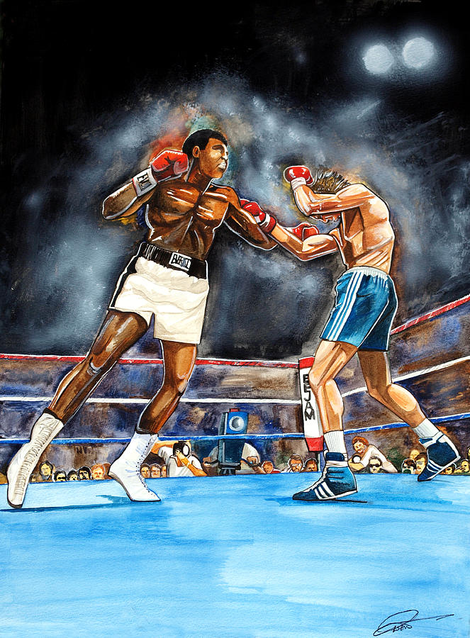 Muhammad Ali Painting - Muhammad Ali by Dave Olsen
