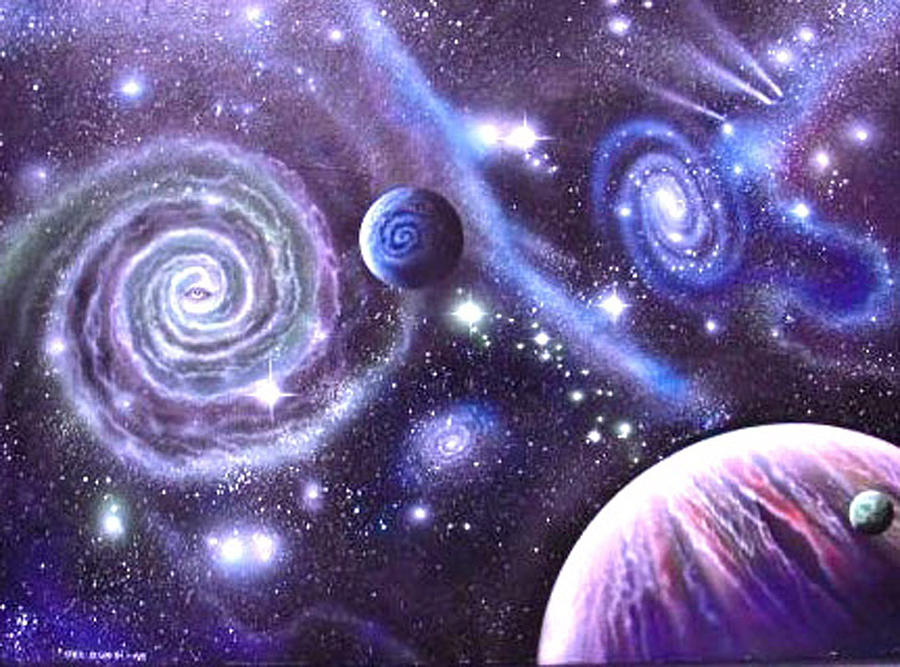 Painting - mULTIVERSE 219 by Sam Del Russi