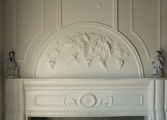 Plaster Mural Sculpture - Mural by Michael Chesnakov