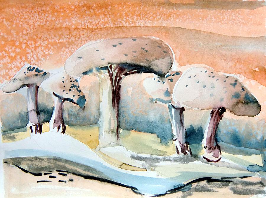 Mushroom Heaven Painting
