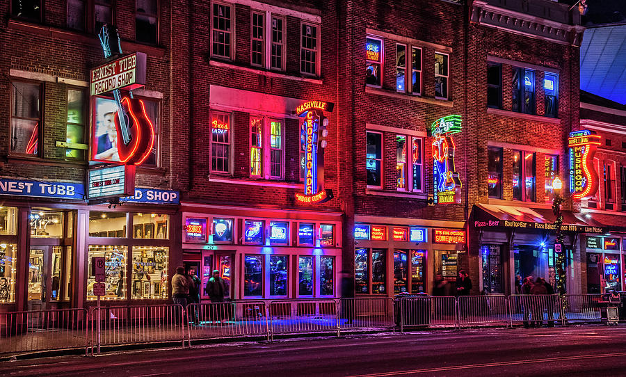 Music City Lights Photograph