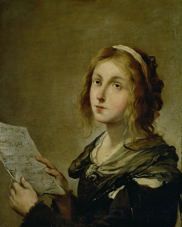 Painting - Music by Salvator Rosa
