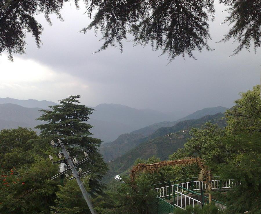 Monsoons Photograph - Mussoorie Monsoons by Padamvir Singh