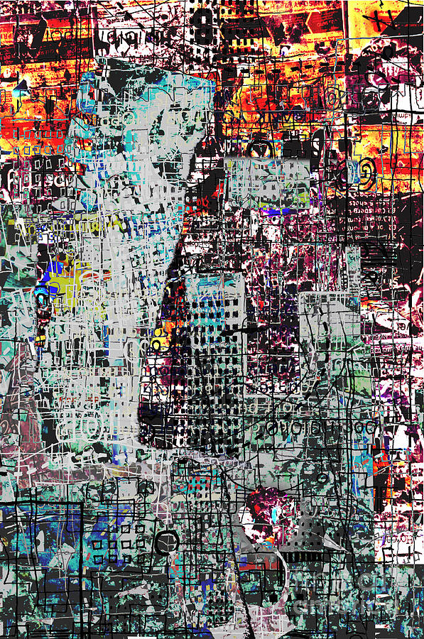 City Digital Art - Mutually Assured by Andy  Mercer