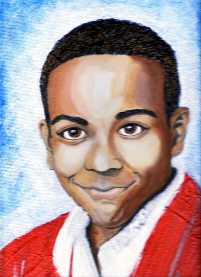 Keenya Woods Painting - My Angel Smiles On Me  by Keenya  Woods