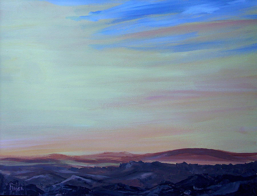 Southwest Painting - My Brothers Territory by Pete Maier